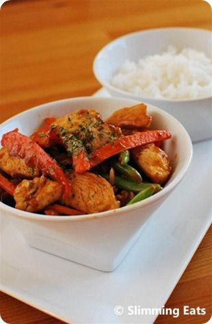 Sweet and Sour Chicken Slimming Eats Recipe Serves 2 Extra Easy – approx 2 syns per serving Original – approx 2 syns per serving Ingredients 2 chicken breasts, with all fat and skin removed, chopped into bite size pieces 1 small red onion, halved and sliced 1 red pepper, sliced handful of green beans 1...Read More »