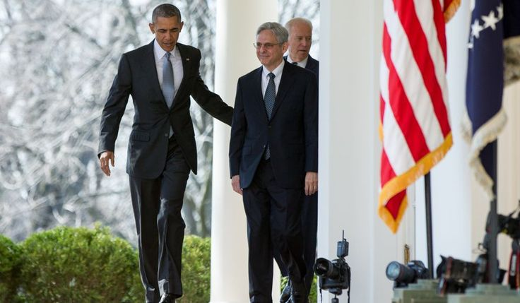 """0bama nominates Judge Merrick Garland for Supreme Court. Merrick """"has a very liberal view of gun rights.""""0bama says that Garland is a moderate who Conservatives can get behind. HE IS LYING. JCN chief counsel Carrie Severino said in a blog post that Judge Merrick's record on the bench since 1997 """"leads to the conclusion that he would vote to reverse one of Justice Scalia's most important opinions, D.C. vs. Heller, which affirmed that the Second Amendment confers an individual right to keep…"""