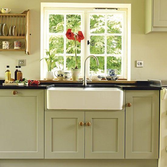 Sink area | Period farmhouse kitchen | Kitchen tour | PHOTO GALLERY | Beautiful Kitchens | Housetohome.co.uk