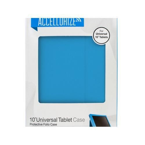 Accellorize Light Blue Universal Tablet Case ( Case of 15 )