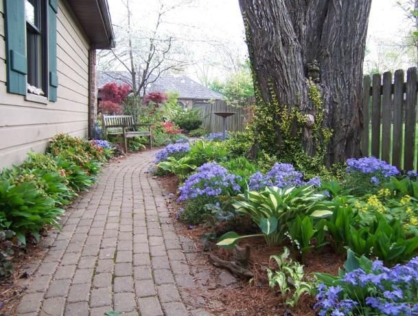 Front yard landscaping designs for Garden design ideas zone 4