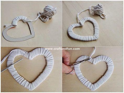 Riciclo Creativo - Craft and Fun: San Valentino: decorazioni per la casa fai da te con il riciclo