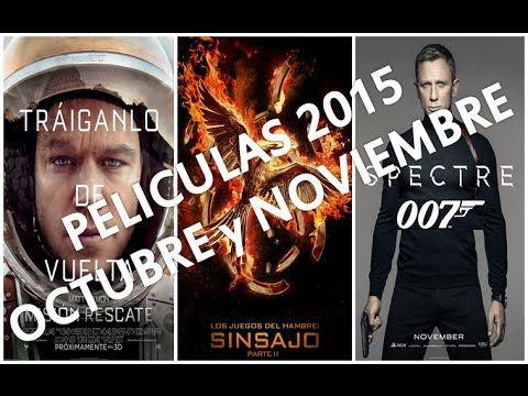 Estrenos de Cine para Octubre y Noviembre 2015 / Las Mejores Películas ➡⬇ http://viralusa20.com/estrenos-de-cine-para-octubre-y-noviembre-2015-las-mejores-peliculas/ #newadsense20