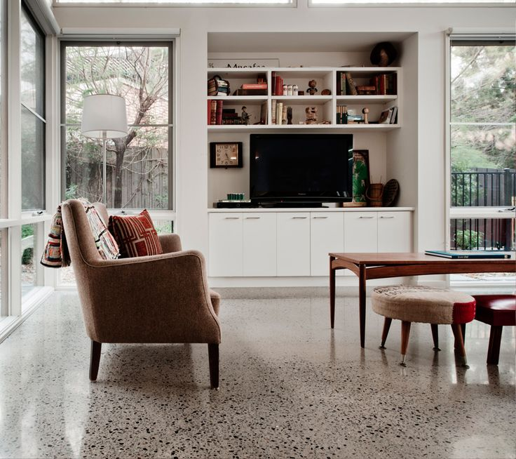 Polished concrete flooring in your home   Progrind