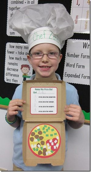 Free patterns for fraction pizzas!