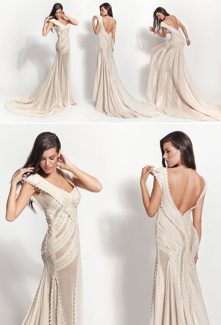 "Mod.""Aerlia""  vintage wedding dress, boho wedding dress, VG Ζolotas, Atelier Zolotas, Handmade wedding dress, women fashion, bridal fashion, bride"