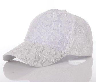 2016 Snapback Women's Baseball Caps Lace Sun Hats Breathable Mesh Hat Outdoors Visors Gorras