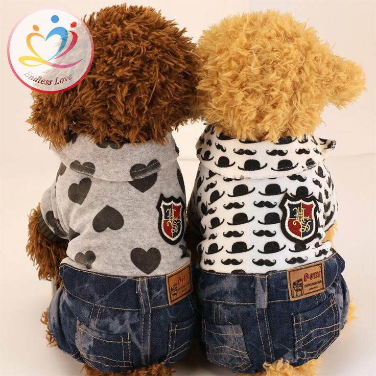 New hot winter dogs Apparel Puppy Rompers Jeans for pet clothing Dogs Clothes Vestido Pets Hoodies