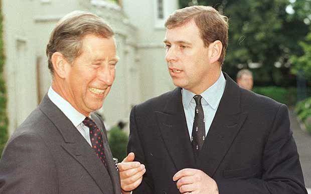Prince Charles & Prince Andrew