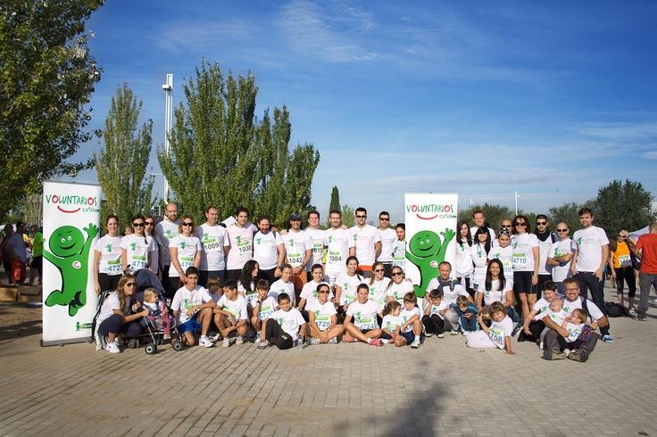 Nuestros Voluntarios Cetelem participaron en la II Carrera Solidaria de la Fundación Síndrome de Down de Madrid