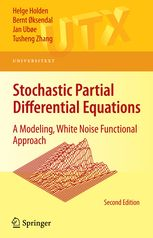 Stochastic Partial Differential Equations - A Modeling, White | H. Holden | Springer