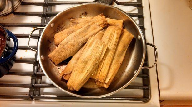 Traditional Tamales Pork) Recipe - Food.com - 15286