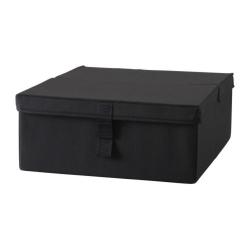 IKEA - LYCKSELE, Úložný díl rozkl. křesla, , Úložný box lze umístit pod rozkládací křeslo a ukládat do něj můžete například povlečení.