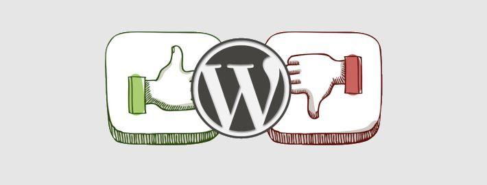 De voordelen en nadelen van WordPress