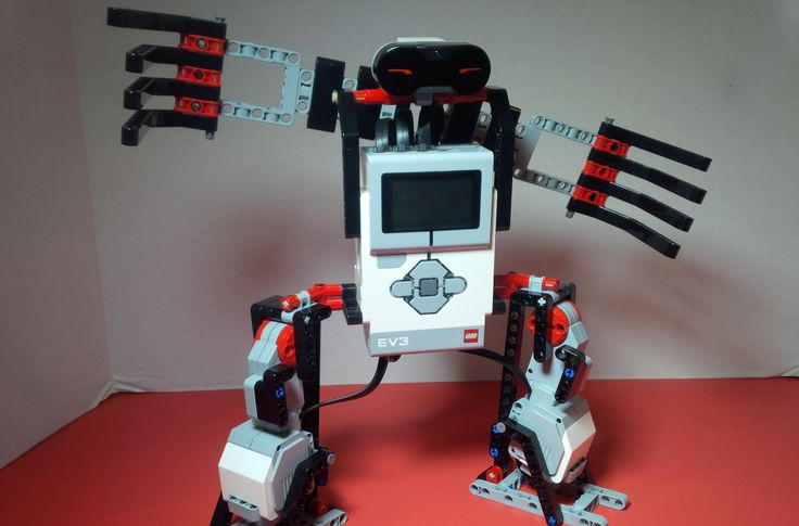 This week's project was a Lego Mindstorms EV3 Basketball Robot. The goal was to make a robot that demonstrates good defensive stance and movement using the IR sensor to detect when the ball comes near.