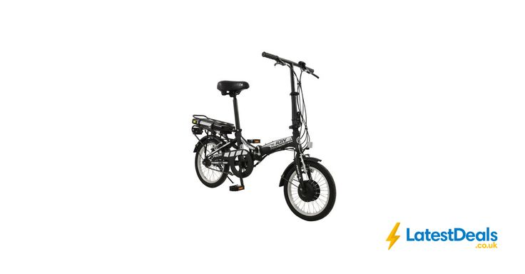 "Ion 16"" Wheel Unisex Alloy Folding Electric Bike save £500 Free Delivery, £499 at Amazon UK"