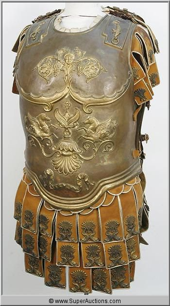 Roman Armour Torso Shield from the 1959 Film Ben Hur.