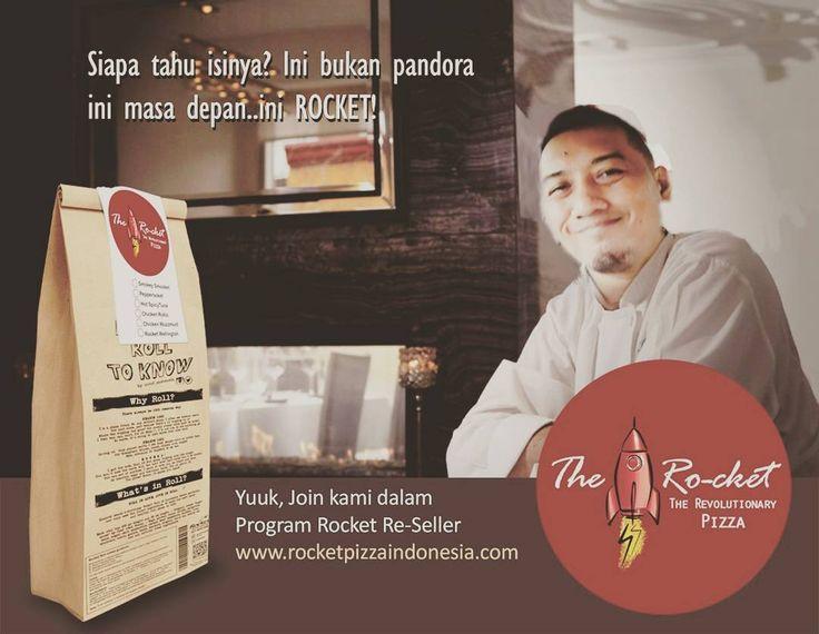 Yuuk jadi Reseller Rocket Pizza #rocketroll #revolutionarypizza #Rocketpizza #carabarumakanpizza #quickbite #superbmeal #pizzadelivery #madeinindonesia #kulinerindonesia #rocketforbreakfastlunchandlatenightdessert #rocketreseller