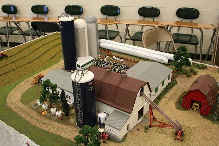 1 64 model farm display 1 64 farm toys pinterest for 1 64 farm layouts