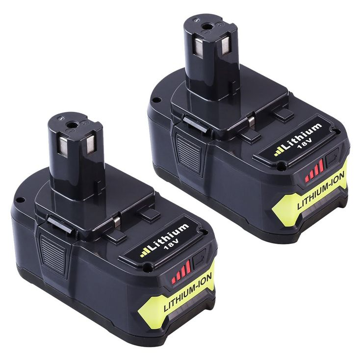 Dosctt Replace for Ryobi 18V One Plus Battery Lithium Ion 4.0Ah P102 P103 P107 P105 P108 P104 Cordless Tool Drill Batteries 2 Packs
