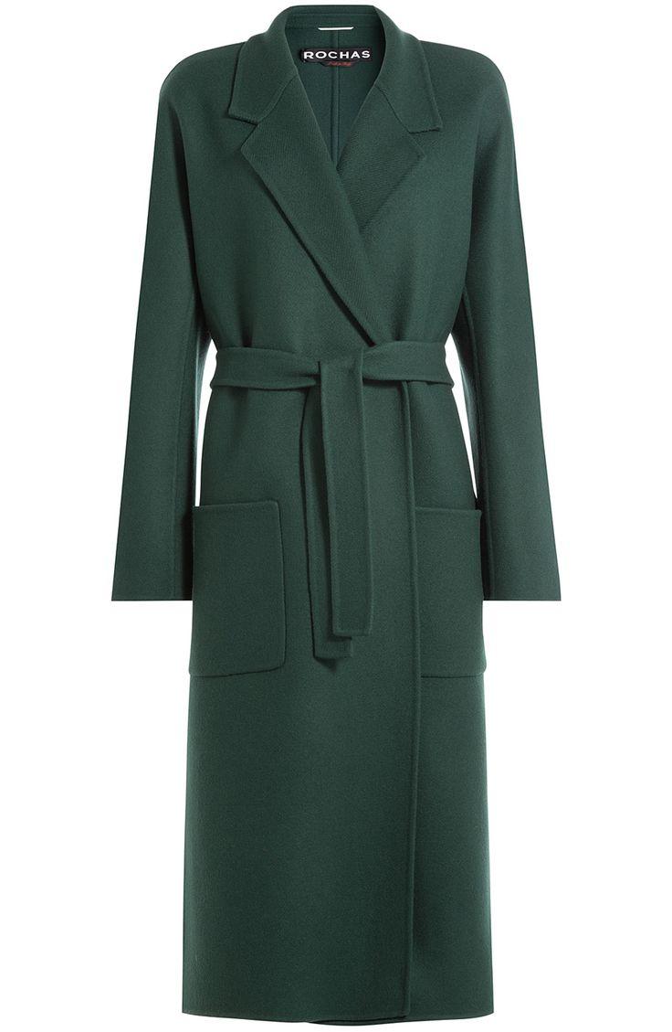 ROCHAS Virgin Wool Coat. #rochas #cloth #long coat