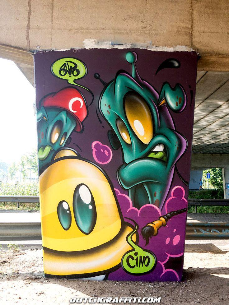 Unique Arte Graffiti Ideas On Pinterest Graffiti Art Arte - Street artist turns street furniture into characters