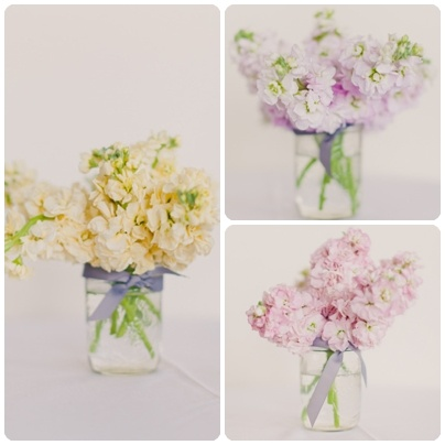 Pretty Pastels - The gorgeous photographs were captured by Mademoiselle Fiona. The beautiful florals were done by SPINA.