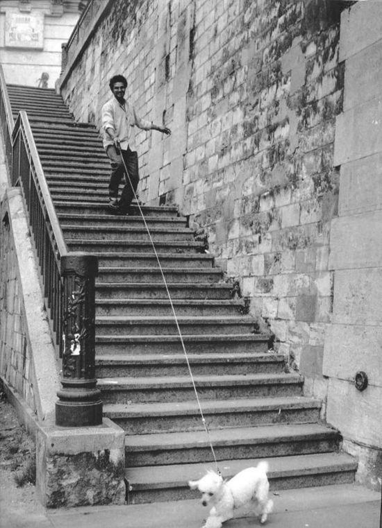 Robert Doisneau Paris 1988.
