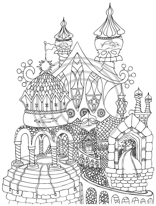 35 best Adult Coloring Pages images on Pinterest Drawings