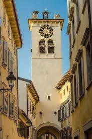 torre dell'orologio Rovereto, Itália, Trentino , Trentino-Alto Adige