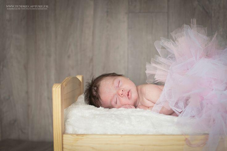 petite danseuse dans son lit