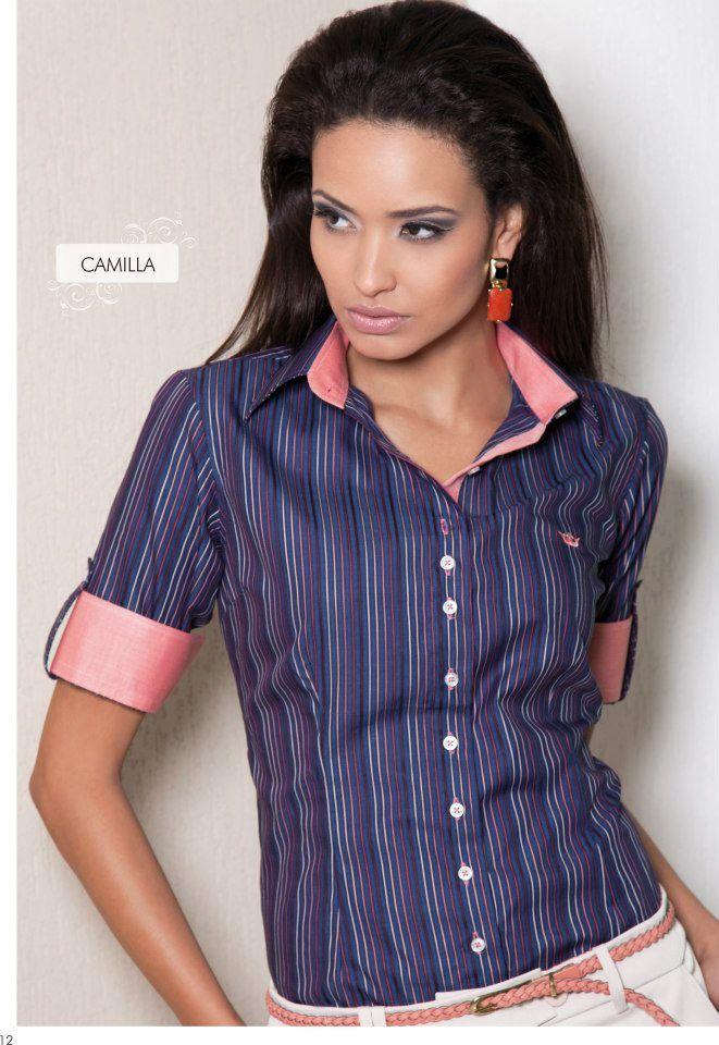 Camisa Feminina Principessa Camila