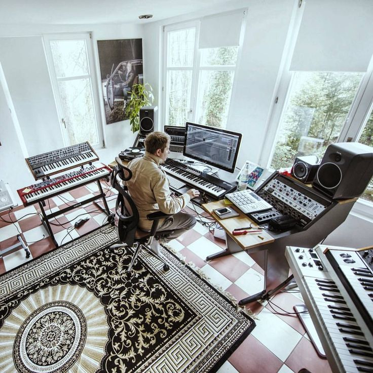 fetching home recording studio design. cooking a track in his studio  222 best Home images on Pinterest Music studios Recording