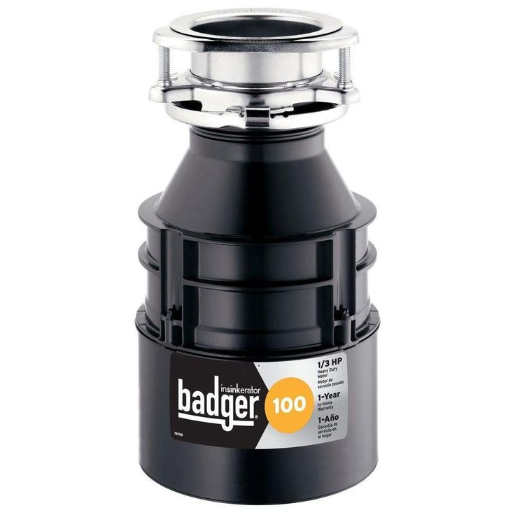 The Badger 100 Garbage Disposal is an excellent disposer of excessive food waste. The InSink Badger 100 1/3 HP Continuous Feed Garbage Disposer that the company has made available is one of many reliable waste disposers in their product line. This product has made many customers happy and in this short review, you are going to find out why this is the case.  Features of the Badger 100 Garbage Disposal The Badger 100 Garbage Disposal comes with an awesome induction motor that runs on 1/3…