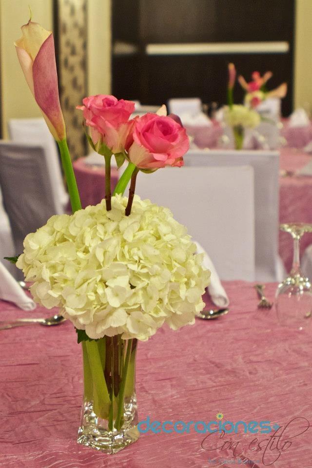 Mejores 103 im genes de flores naturales y artificiales for Centros de mesa artificiales