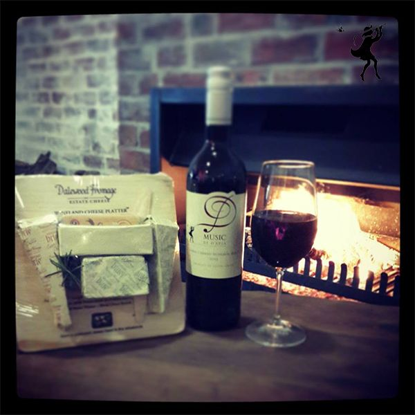 Delicious cheese and a glass of Red by the fire. This is the ideal way to spend the day! Come and join us.