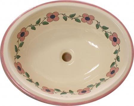 Традиционная мексиканская Раковина-Flor Пастель - мексиканские плитки Designs