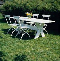 Snickra sommarfesternas möbler | Trädgårdsmöbler | Trädgård |