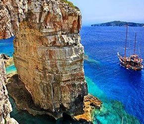 The Arch Rock West Coast. Paxos Greece