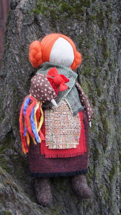 """Народные куклы ручной работы. Ярмарка Мастеров - ручная работа """"Девочка с петушком"""". Handmade."""
