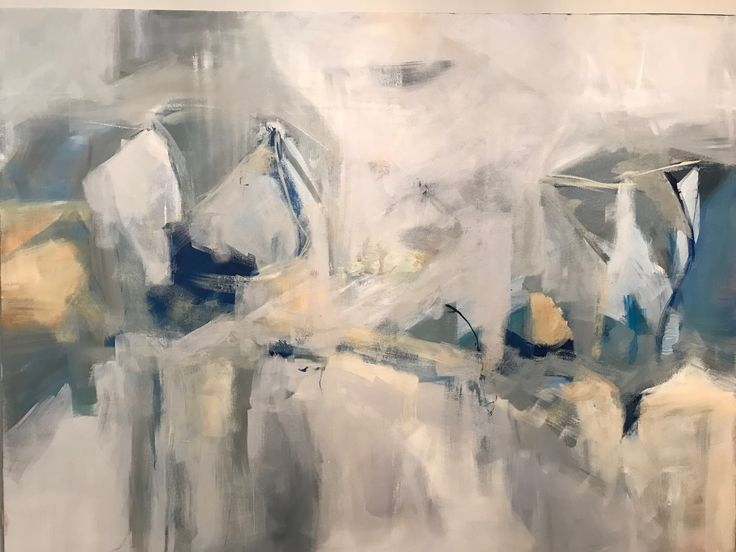 "Daydream (Athanasia Susie Colomvakos) Acrylic on canvas 36""x48"""
