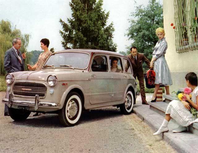 1958 Fiat 1100 Familiale