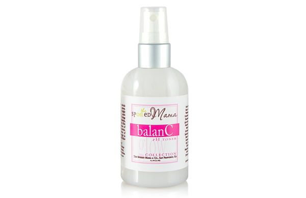 Nourish and balance the skin during pregnancy with The Spoiled Mama BalanC pH Toner.
