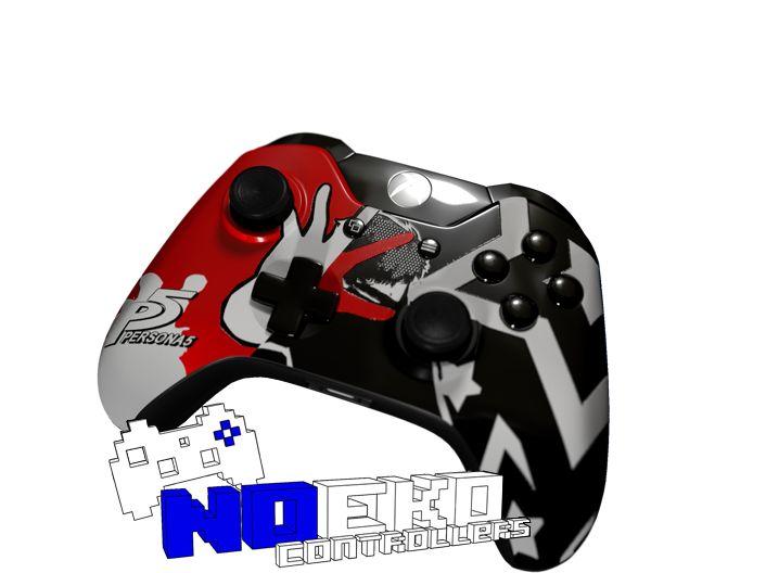NOEKO ARCADES CUSTOM PERSONA 5 INSPIRED XBOX ONE CONTROLLER