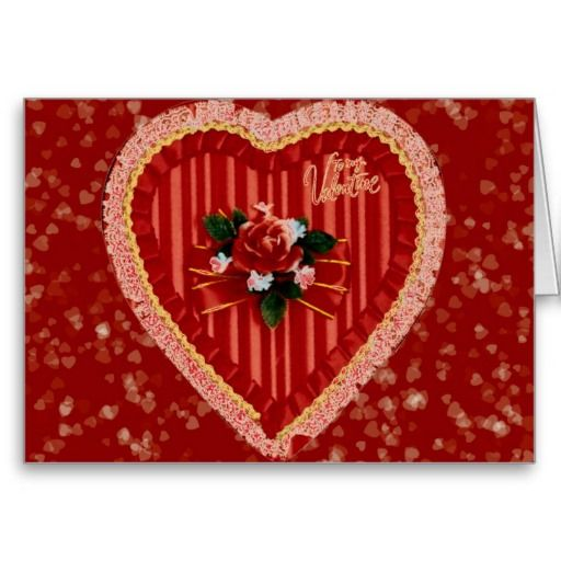 Romantic Heart  Valentine's Card by elenaind