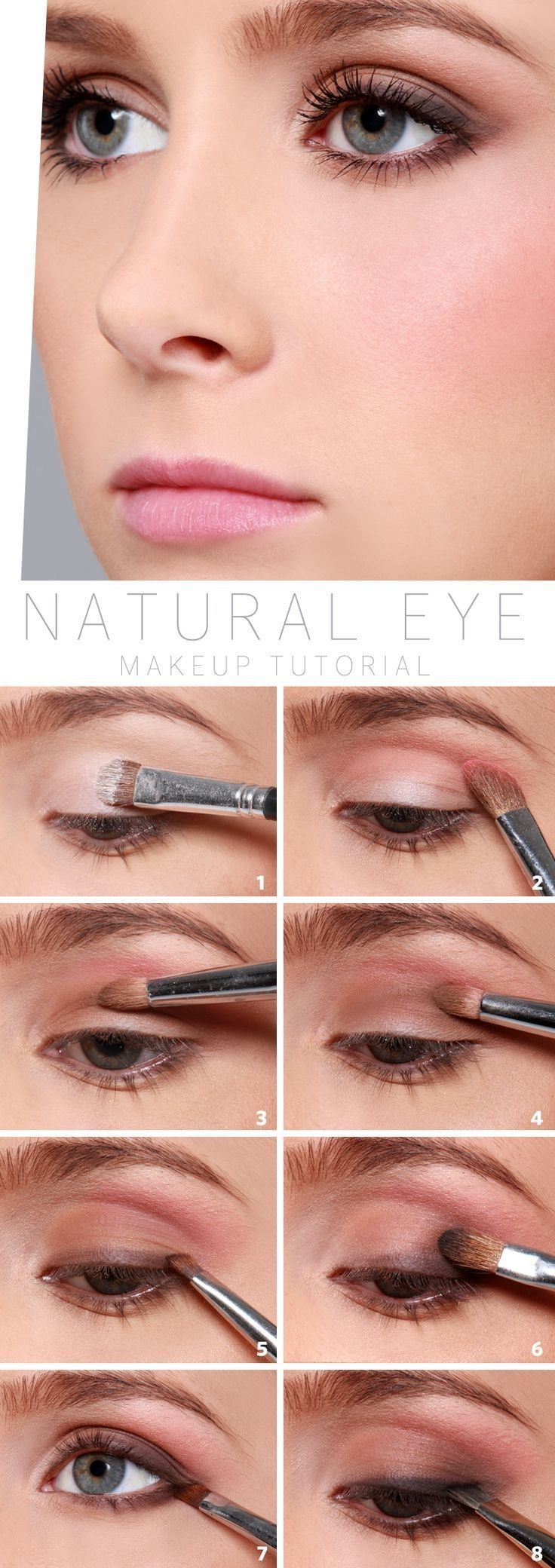 How to Do Natural Eyes   Work Makeup Tips by Makeup Tutorials at   Makeup Tutorials http://makeuptutorials.com/10-minute-makeup-tutorials-for-work