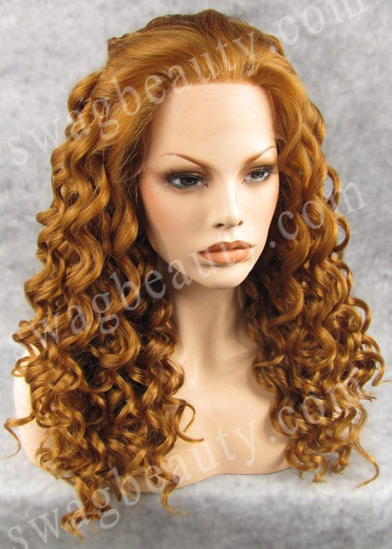 20″ Deep Wave Synthetic Lace Front Wig