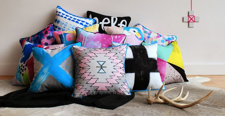 INTERVIEW: TASSEL AND GAINE decorative cushions, stylish cushions, cushions for home