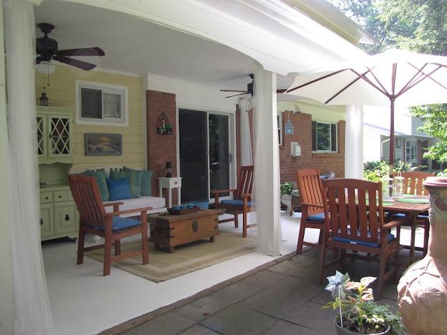 45 best back porch ideas images on pinterest | porch ideas ... - Back Porch Patio Ideas