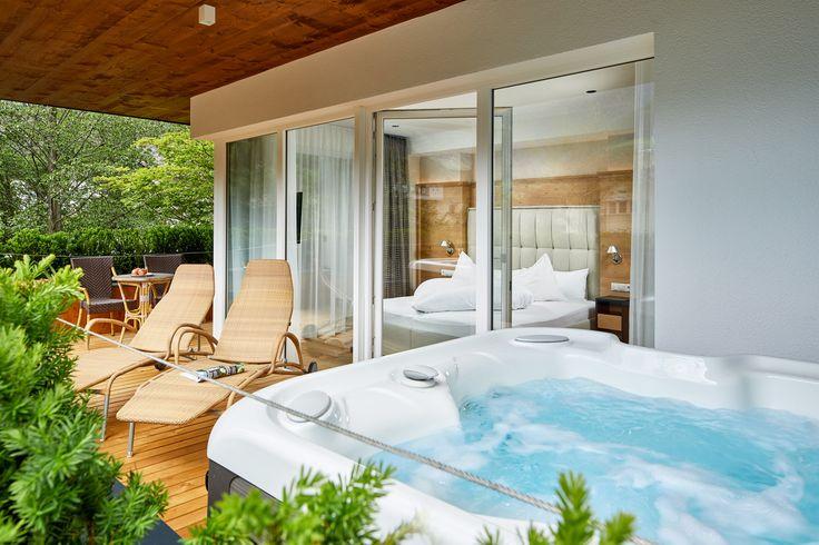 Die neuen Suiten mit Whirlpool